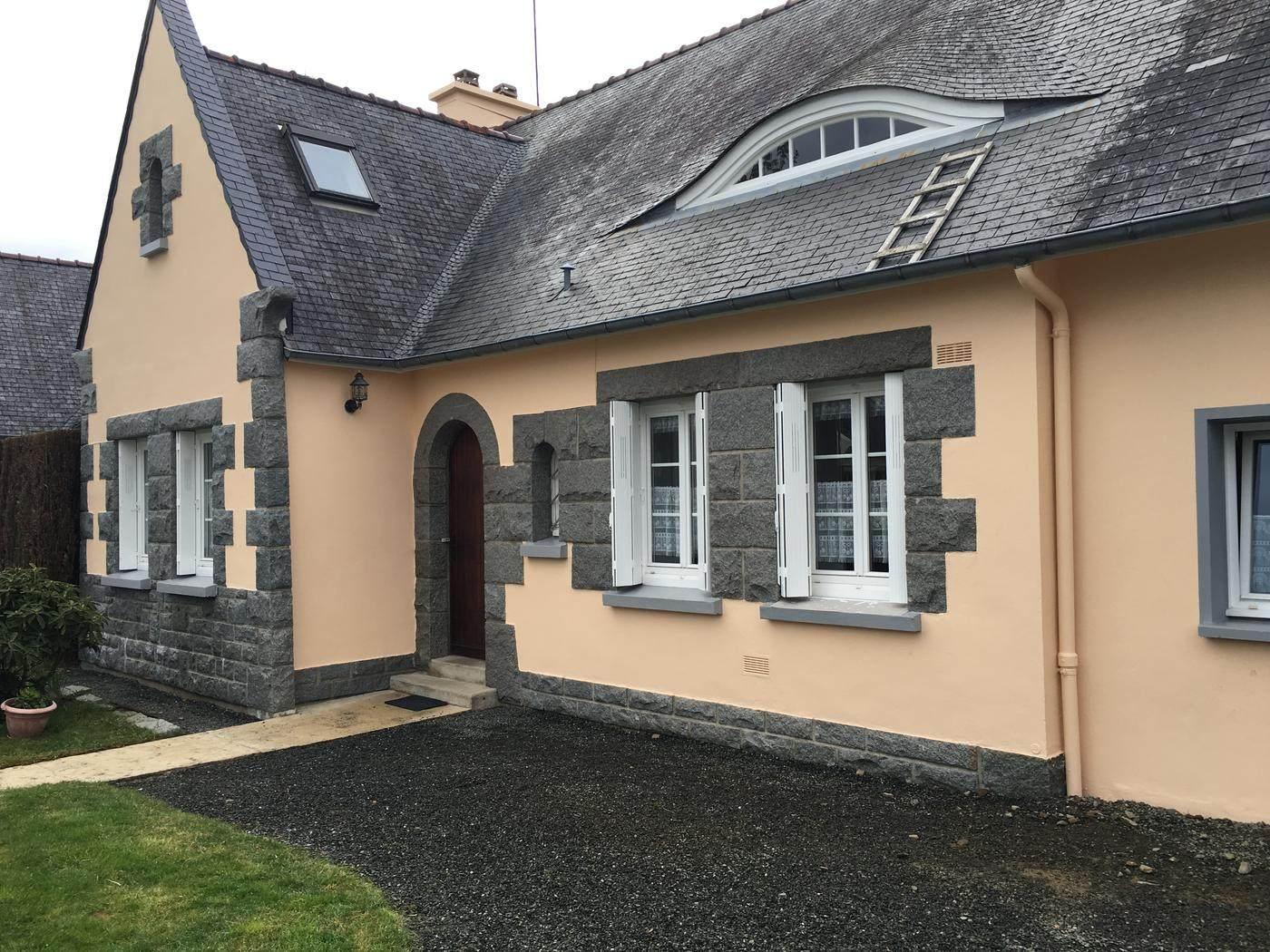 Refaire facade maison maison moderne - Ravalement maison individuelle ...